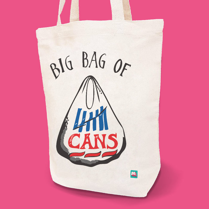 Big Bag of Cans Tote Bag