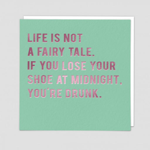 Life is not a fairy tale. - Maktus