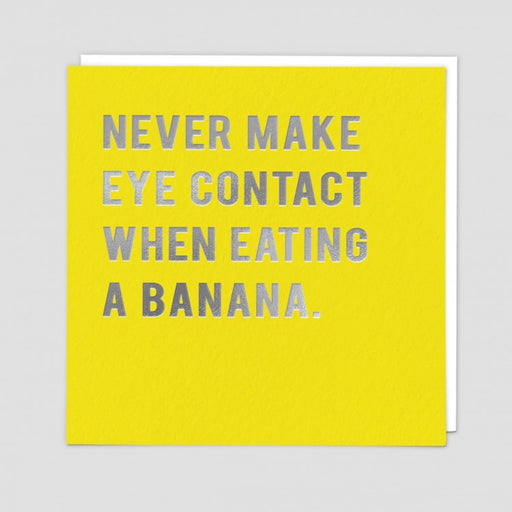 Never Make Eye Contact