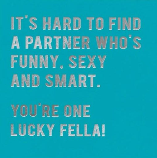 Fella - its hard to find a partner