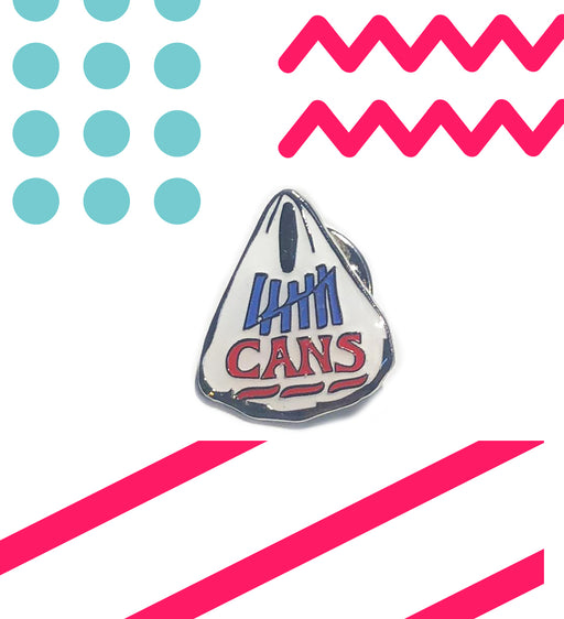Bag Of Cans Enamel Pin