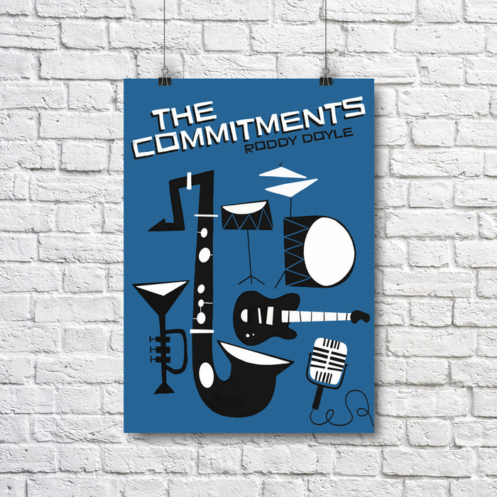 The Commitments A3 Print - Maktus
