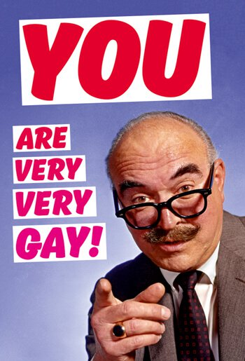 You are very, very Gay!