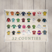 Jerseys Tea Towel - Maktus