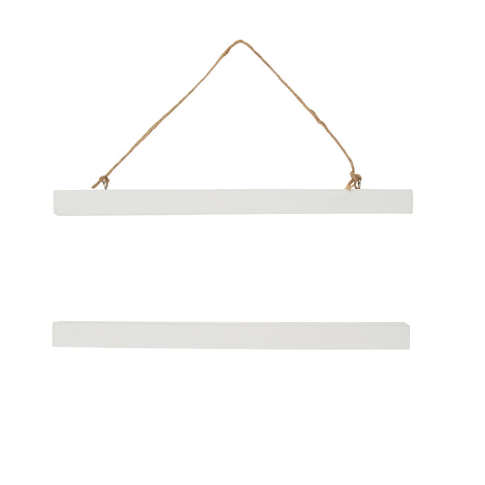 White Magnetic Poster Hanger for A3 portrait prints