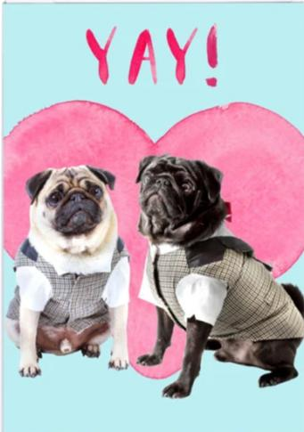 Yay! Pugs (His & His)