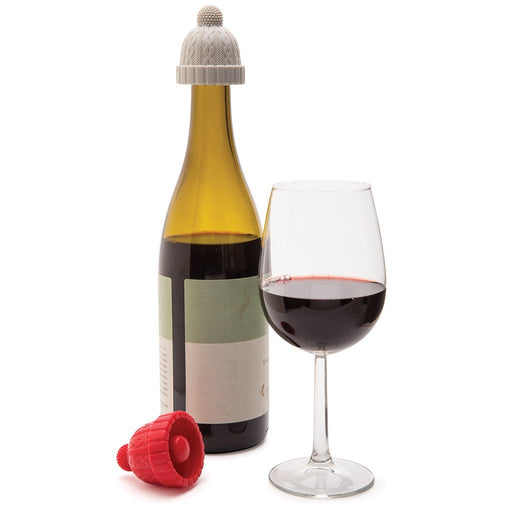 Beanie Bottle Stopper - Pack of 2 - Maktus