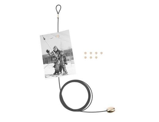Cable Photo Holder- Black