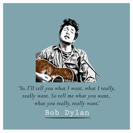 Bob Dylan - Yo, I'll Tell You What I Want... - Maktus