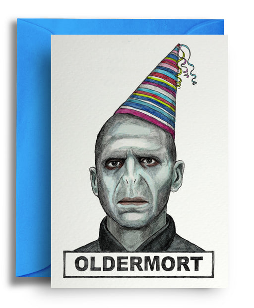 Oldermort card - Maktus