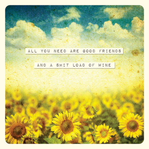 All You Need Are Good Friends