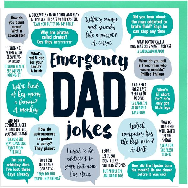 Emergency Dad Jokes - Maktus