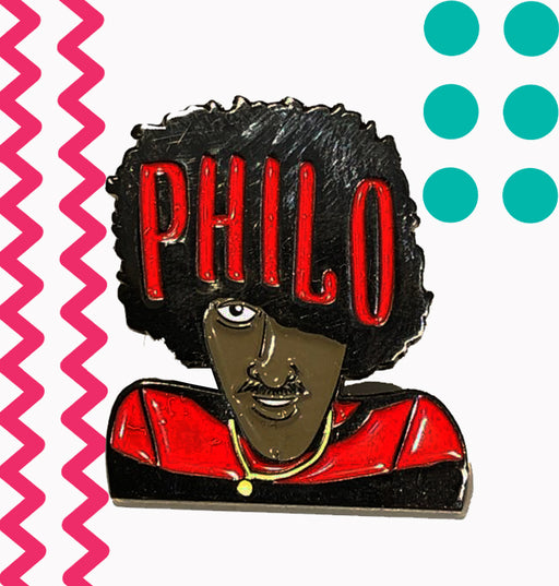 Philo- Enamel Pin