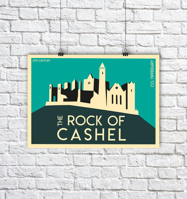 Rock of Cashel A4 - Maktus