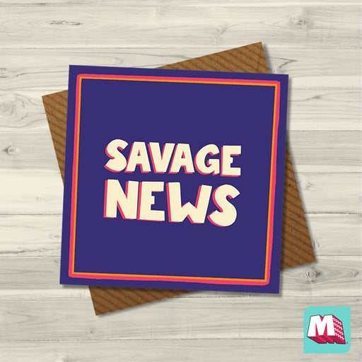 Savage news - Maktus