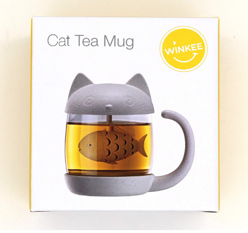 Cat Tea Mug - Maktus