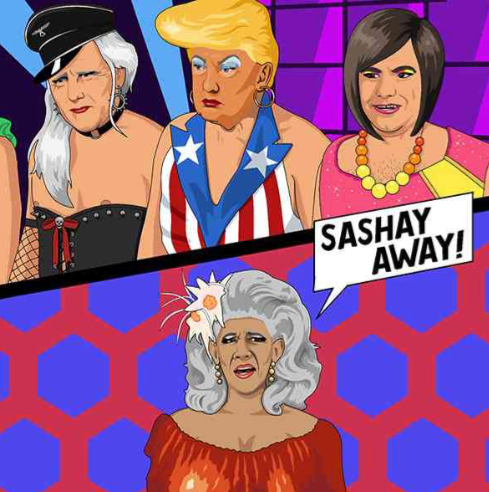 Trump on Drag Race - Maktus