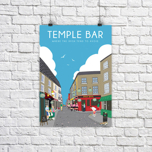 Temple Bar A4 Print - Maktus