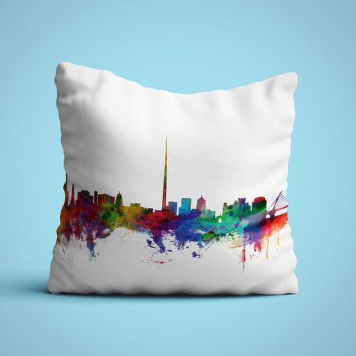 Dublin Skyline Cushion Cover