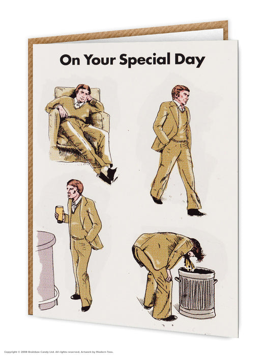 Special day Dustbin card - Maktus