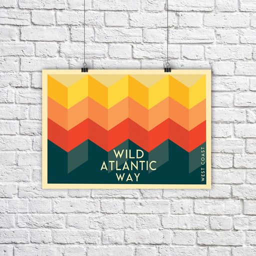 Wild Atlantic Way A3 - Maktus