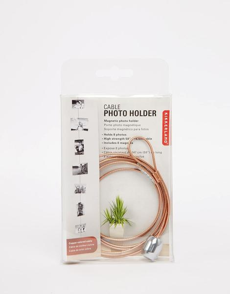Cable Photo Holder Copper - Maktus