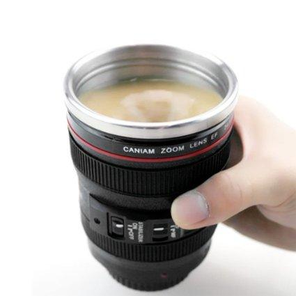 Camera Lens Travel Mug - Maktus