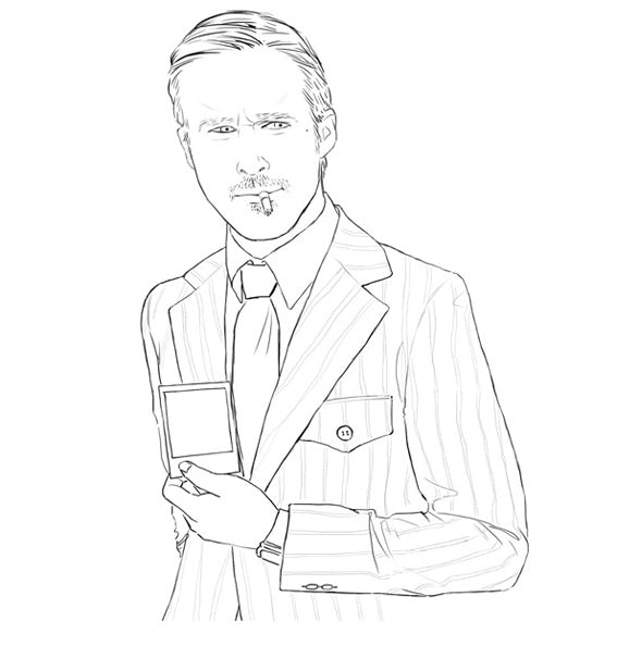 Colour me Ryan Gosling 2