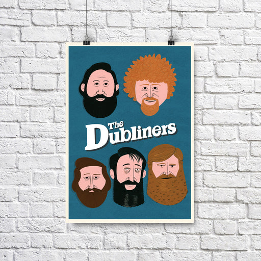 The Dubliners Print A3