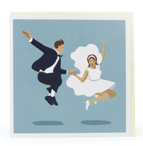 First Dance- Wedding Illustration