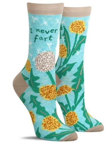 I Never Fart Ladies Socks