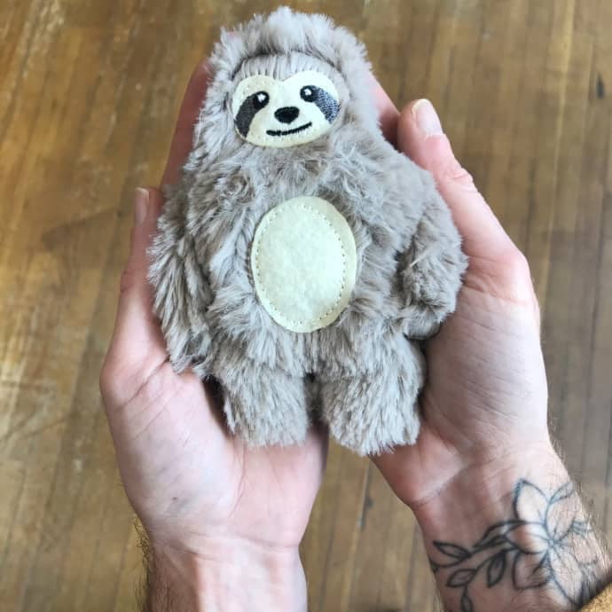 Pocket Pal Sloth - Small