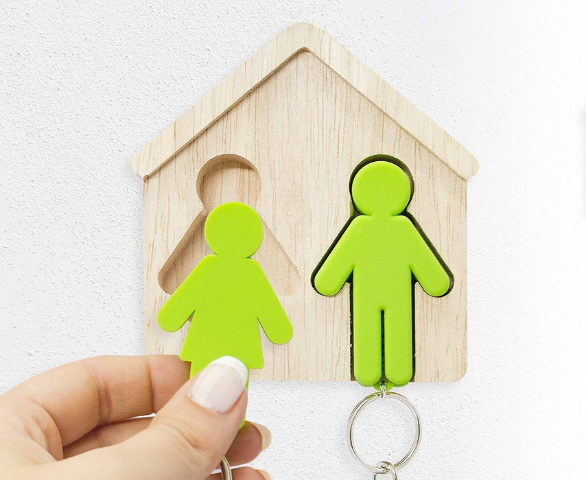 His and Hers keyring house holder