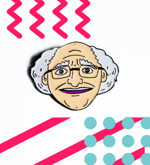 Michael D Higgins Pin - Maktus