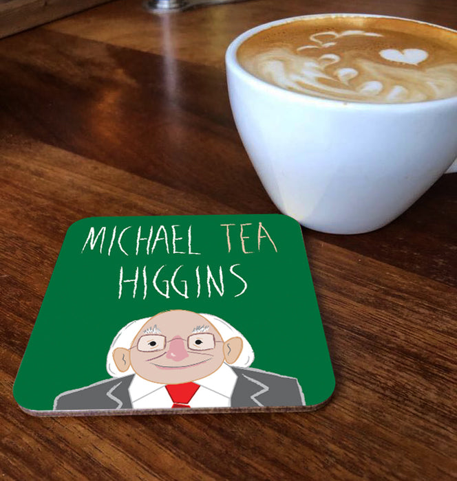 Michael Tea Higgins Coaster