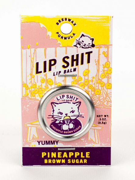 Lip Shit Lip Balm – Pineapple Brown Sugar - Maktus