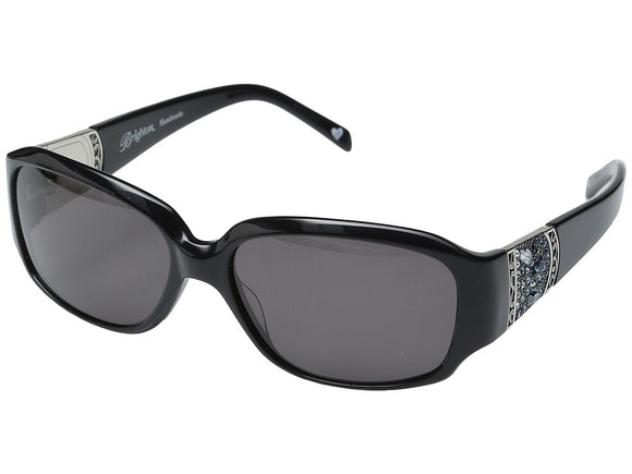 Brighton - Crystal Voyage (Black/Blues) Fashion Sunglasses