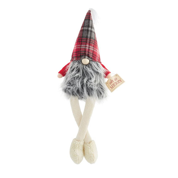 Oh So Merry Dangle Leg Gnome