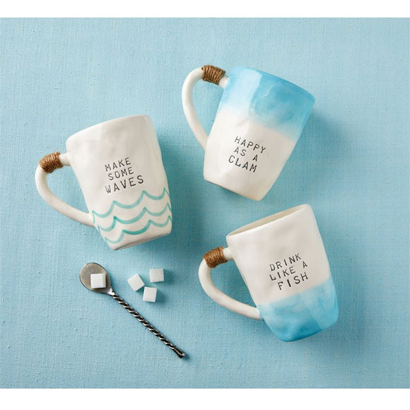 Beach Wave Ombre Mug (assorted)