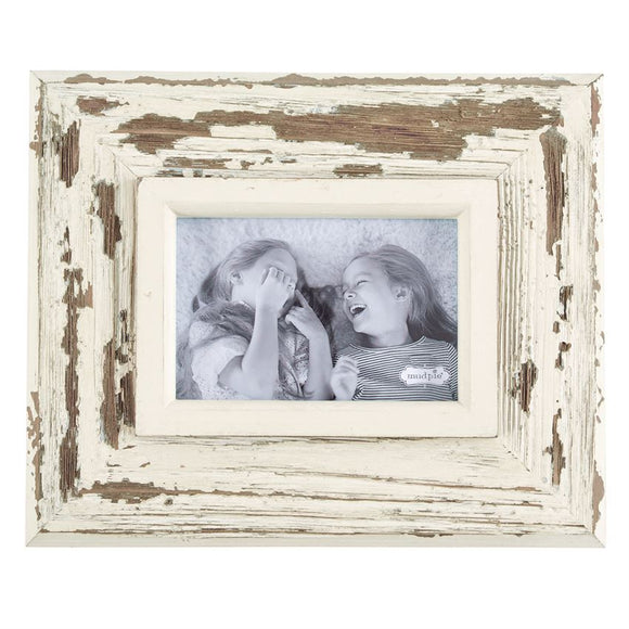 Small White Weathered Frame