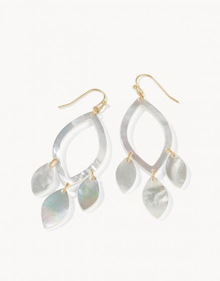 Sweetspire Leaf Earrings