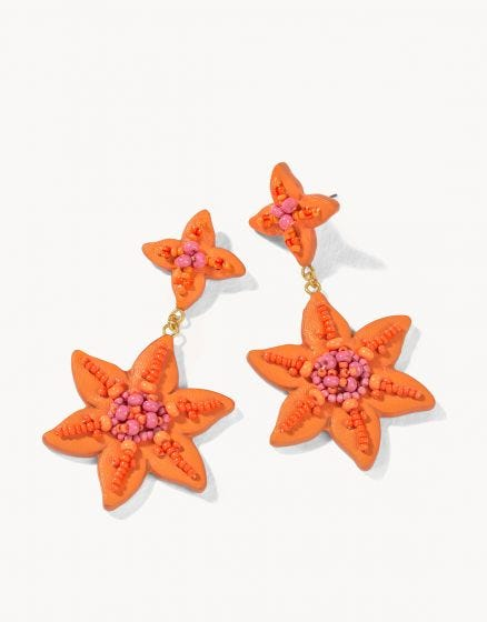 Lily Beaded Earrings