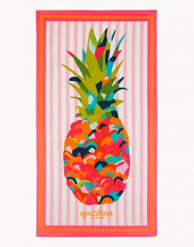 Pineapple Beach Towel in Moreland