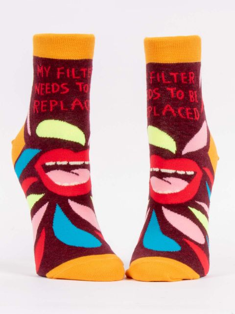 Women's Crew Socks My Filter