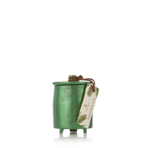 Frasier Fir Small Green Metal Tin Candle