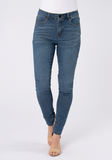 Skinny Leg Jean Medium Denim