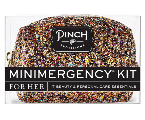 Minimergency Kit Bronze Glitter Bomb