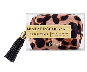 Minimergency Kit Leopard Blush