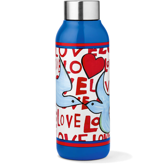 Love Doves Water Bottle