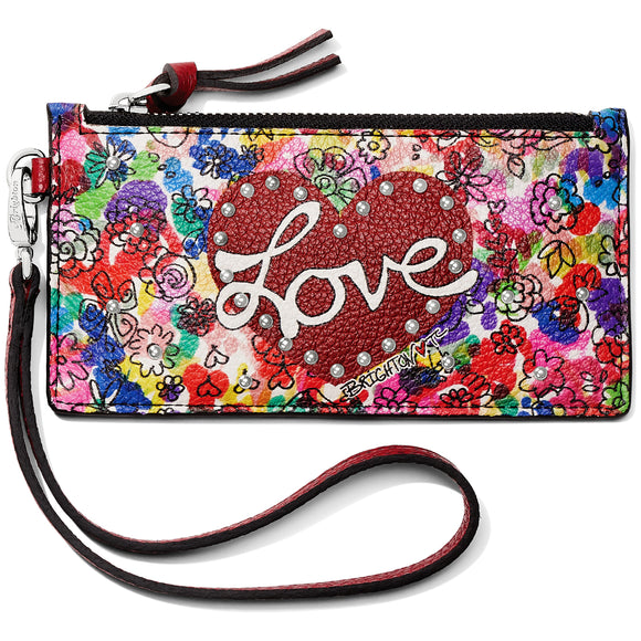 Love Bouquet Card Pouch